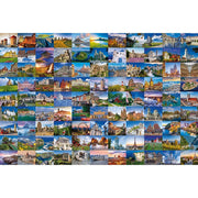 Ravensburger 99 Beautiful Places of Europe Puzzle 3000pc