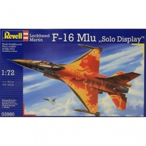 Revell 1/72 F-16 MLU Solo Display Starter Set*