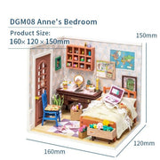Robotime DIY Mini House Annes Bedroom