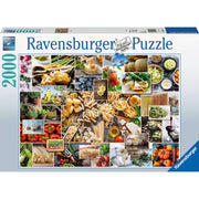 Ravensburger RB15016-8 Food Collage 2000pc Jigsaw Puzzle
