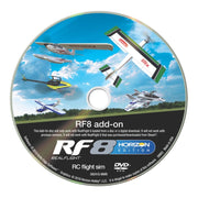 Real Flight RF8 Horizon Hobby Edition Simulator Add-On