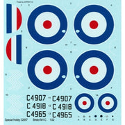 Special Hobby SH32057 1/32 Bristol M.1C Wartime Colours