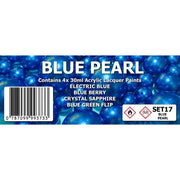 SMS Blue Pearl Colour Set