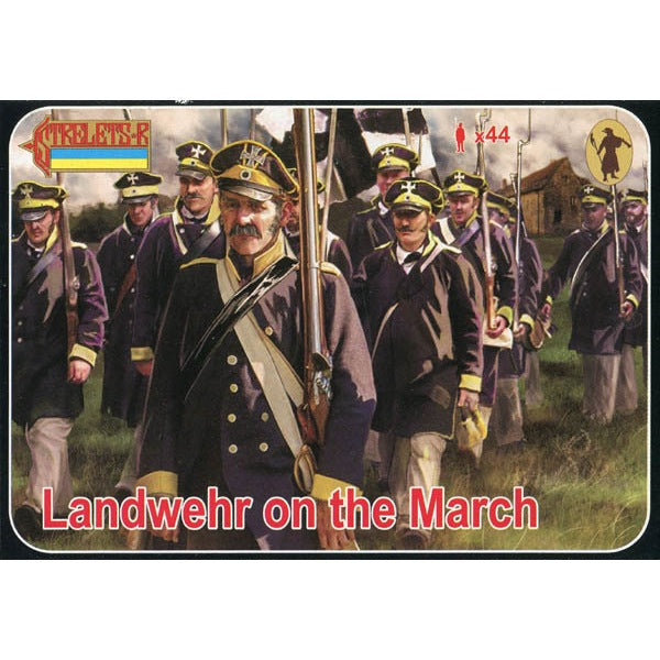 Strelets 1/72 Landwehr on the March Napoleonic – Metro Hobbies