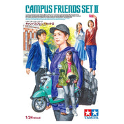 Tamiya 24356 1/24 Campus Friends Set II Plastic Model Kit
