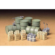 Tamiya 35186 1/35 German Fuel Drum Set Plastic Model Kit