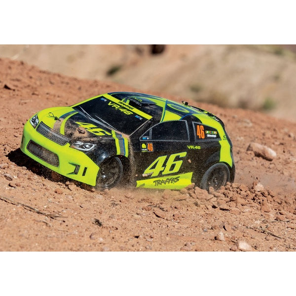 Traxxas LaTrax Ford Fiesta ST Rally Valentino Rossi Edition 1/18 4WD Rally Car