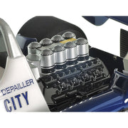 Tamiya 47428 Tyrrell P34 1977 Monaco GP 6 Wheeler Pre-Painted & Assembled with F103 Chassis 1/10 RC