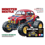 Tamiya Monster Beetle Black RC Assembly Kit 1/10 Limited Edition T47419