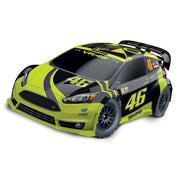 Traxxas Ford Fiesta ST Rally Valentino Rossi Edition 1/10 4WD Rally Car TRA-74064-1-VR46 020334740632