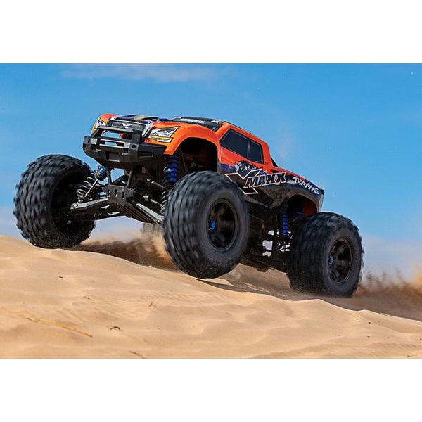 Traxxas X-Maxx 8S 1/6 Brushless Electric Monster Truck (Orange Edition)