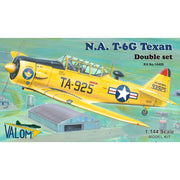 Valom 14408 1/144 North-American T-6G Texan (Double Set)