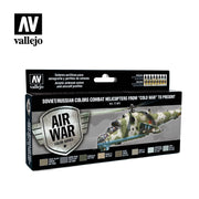 Vallejo Model Air Soviet/Russian Combat Helicopters Post WWII to Present Acrylic Paint Set