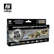 Vallejo Model Air Soviet/Russian MiG-23 Flogger 70s-90s Acrylic Paint Set