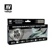 Vallejo Model Air Soviet/Russian MiG-29 Fulcrum 80s-Present Acrylic Paint Set