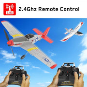 Volantex RC 761-5 P-51D Mustang 500mm 6-Axis Gyro RC Plane (Ready-to-fly)