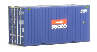Auscision HO CON-5 20ft Hi-Cube Container Seacell Seaco Twin Pack