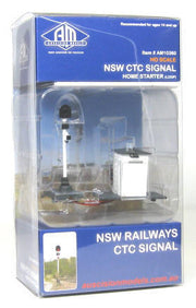 Auscision HO NSW CTC Home Starting Signal (Loop) w/ Hut