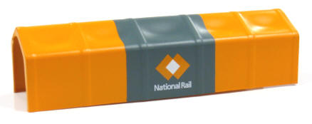 Auscision HO AMA-3 Tarpaulin Cover National Rail Orange/Grey Version 1 4 Pack