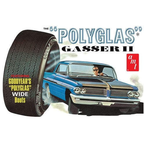AMT 1/25 1/25 The Polyglas Gasser II 1962 Catalina