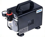 Hseng Mini Air Compressor with Cover (Oil-free)