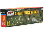 Atlas 0777 HO Rustic Fence and Gate Kit