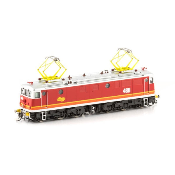 Auscision HO 46-2 4611 Midland Red As Delivered with Buffers 46 Class Locomotive