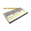 Auscision HO Gold Storage Box (Horizontal Liners)