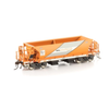 Auscision HO NDFF Rail Infrastructure Corporation (RIC) Orange & Silver 4 Car Pack