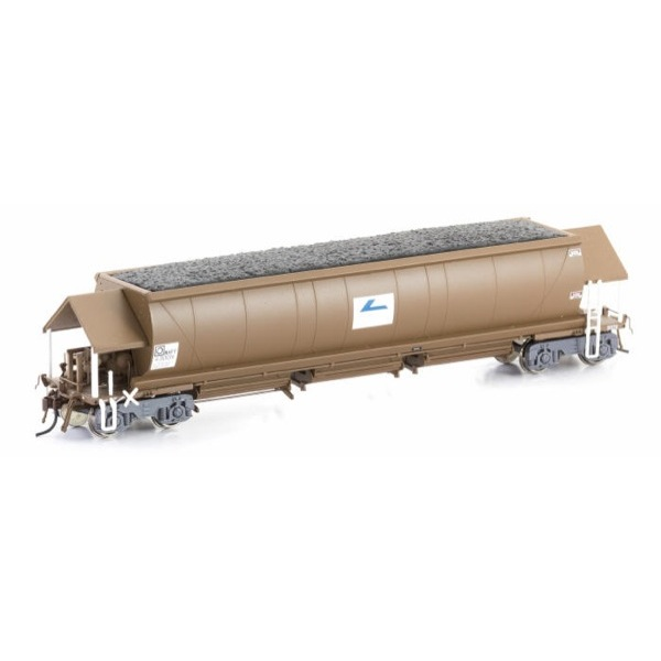 Auscision HO NHFF Coal Hopper State Rail (Faded L7) Weathered Brown 6 car pack #1