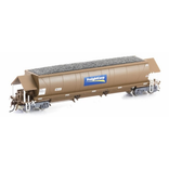 Auscision HO NHSH Coal Hopper FreightCorp Weathered Brown 6 car pack