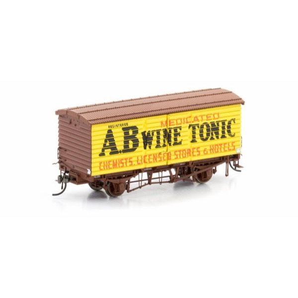 Auscision HO VFW-68 U Van A.B Wine Tonic V2 Single Car