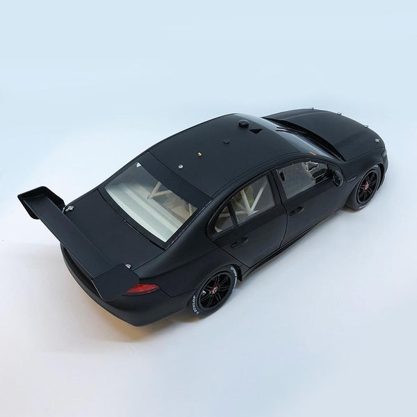 Authentic Collectables 1/18 Ford FGX Falcon Matte Black Plain Body Edition