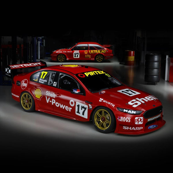 Authentic Collectables 1/18 Shell V-Power Racing Team #17 Ford FGX Falcon 2018 Sandown 500 Retro Round
