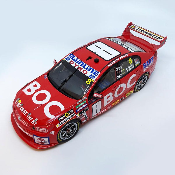Authentic Collectables 1/18 Team BOC Holden VF Commodore 2016 Sandown 500 Retro Livery Jason Bright/Andrew Jones