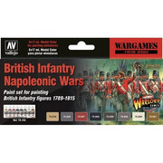 Vallejo 70163 Model Colour British Infantry Napoleonic Wars 8 Colour Arylic Paint Set