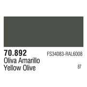 Vallejo 70892 Modelcolor Yellow Olive 17ml Paint