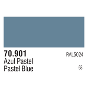 Vallejo 70901 Modelcolor Pastel Blue 17ml Paint