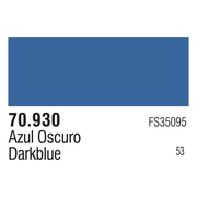 Vallejo 70930 Modelcolor Dark Blue 17ml Paint