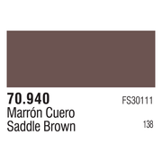 Vallejo 70940 Modelcolor Saddle Brown 17ml Paint