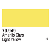 Vallejo 70949 Modelcolor Light Yellow 17ml Paint (010)