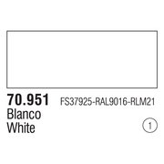 Vallejo Modelcolor White 17ml Paint (001)