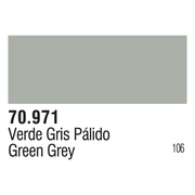 Vallejo 70971 Modelcolor Green Grey 17ml Paint