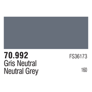 Vallejo 70992 Modelcolor Neutral Grey 17ml Paint
