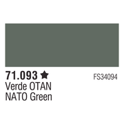 Vallejo 71093 Model Air 93: 17ml Field Green Paint