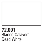 Vallejo 72001 17ml Game Colour 001 -Dead White