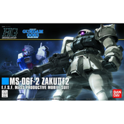 Bandai HGUC 1/144 F2-Zaku (Earth Fed. Type) | 162048