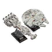 Bandai 5055363 Star Wars 1/1000 Blockade Runner and 1/350 Millennium Falcon