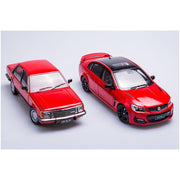 Biante B182717A 1/18 Holden 1978 VB SLE / 2017 VF SSV Redline II First and Last Australian Made Commodore Twin Set