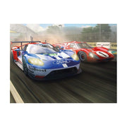 Scalextric C3893A Legends Le Mans 1967 50 Years of Ford Twin Pack Limited Edition**